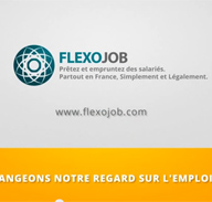 Lancement officiel du site Flexojob